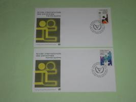 UN - Internationales Jahr der Behinderten , FDC