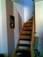 Foto 7 *URGEMÜTLICH* teilmöbl. Maiss. 1,5 Raum DG- Wohnung , Laminat, EBK, Balkon, Borsdorf