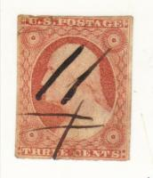USA Briefmarke Nr 4