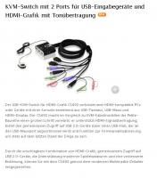 USB-KVM-Switch für HDMI-Grafik CS692