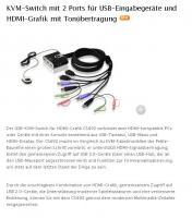 USB-KVM-Switch für HDMI-Grafik CS692
