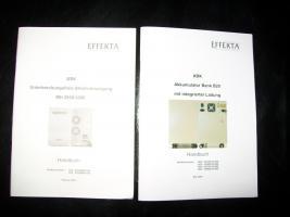 Foto 4 USV Effekta Stromversorgung mit Akkumulator Bank B20 und 8 Akku