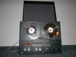 Uher 263 Variocord Tonbandgerät 2 Kanal 4 Spur Stereo + Anleitung + Garantiekarte 70er Jahre RAR!!