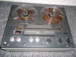 Foto 3 Uher 263 Variocord Tonbandgerät 2 Kanal 4 Spur Stereo + Anleitung + Garantiekarte 70er Jahre RAR!!