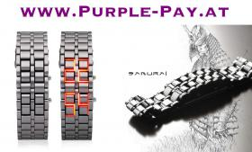 Uhr Watch Samurai japanischer Stil! günstigst!