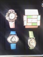 Foto 6 Uhrenkoffer aus Aluminium für 8 Uhren vollgefüllt mit hochwertigen Jay Baxter Damenuhren