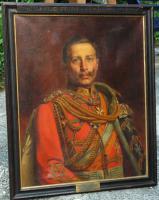 Um1900: Brustporträt Kaiser Wilhelm II.