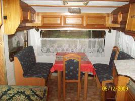 Foto 3 Umbauter Wohnwagen mit eigenem Steg