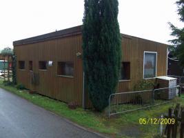 Foto 7 Umbauter Wohnwagen mit eigenem Steg