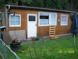 Foto 9 Umbauter Wohnwagen mit eigenem Steg