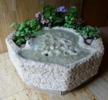 Foto 2 Unikat, Handgefertigter Brunnen, Jurastein, für Foyer od. Draußen