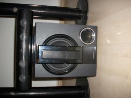 Foto 2 Universum DVD-DR4082 Surround 5.1 (6.0) Boxen Set, 4 Säulenboxen schwarz mit Standfuss, Centerbox, 1200 W Subwoofer