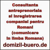 Unternehmenberatung für Rumänen in Landesprache(rumänisch)!!!!!!