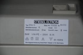 Foto 3 Untertisch Speicher Boiler 5 Liter Stiebel Eltron mit Wasserhahn Armatur