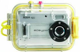 Unterwasser Digital-Kamera Easypix ''Aqua W311'' 3,1 Megapixel, 2,0'' Display, 4x Digital Zoom