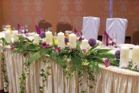 Unvergessliches Hochzeitsdekoration