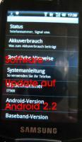 Update auf Android 2.2