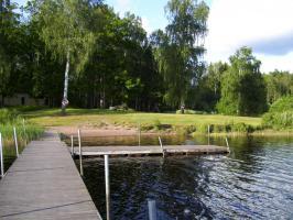Foto 12 Urlaub mit Hund in Süd- Schweden, Ferienhaus mit Boot und Sauna