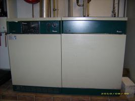 VAILANT-Gasheizung VKS 23E / Wasser-Speicher VIH 115
