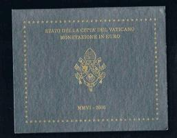 VATIKAN PONTIFICATE OF BENEDIKT XVI. Original Amtlicher Euro Kursmünzensatz 2006 !!!nsatz