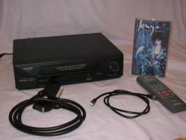 VHS-Videorekorder Sharp VC-MH 761 + FILM