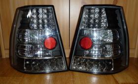 VW Bora Golf 4 Variant LED Rückleuchten klar schwarz
