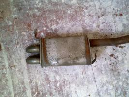 Foto 4 VW T5 Endschalldämpfer/ Auspuff Original gebraucht