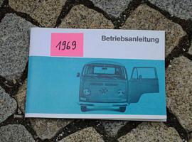 VW Transporter/ Bus Betriebsanleitung 1969 T2