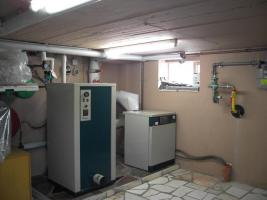 Vaillant Heizungsanlage komplett funktionstüchtig mit 200l Kessel und Pumpe