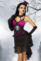 Vampir-Kostüm,5-tlg, aufwendig und hochwertig verarbeitet
