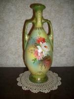 Vase im Empire-Stil (Amphoren-Form mit zwei Henkeln)