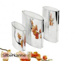 Vase Lixus H 15 cm, versilbert / SILBER plated