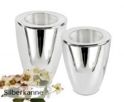 Vase Manzla H 20 cm, versilbert / SILBER plated
