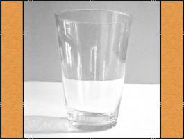 Vase, Pflanzgefäß, Windlicht, Glasgefäß – konisch (11 x 15)