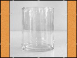 Vase, Pflanzgefäß, Windlicht, Glasgefäß – mundgeblasen (8 x 10)