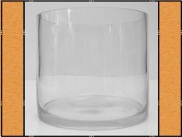 Vase, Pflanzgefäß, Windlicht, Glasgefäß - (15 x 13)