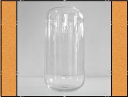 Foto 4 Vase, Pflanzgefäß, Windlicht, Glasgefäß - mit eingezogenem Rand