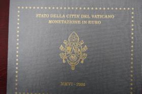 Vatikan Kursmünzensatz 2006 ( Benedikt 16. ) in ST
