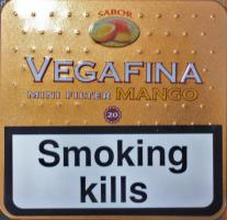 Vegafina Mini Filter Cigarillo Mango
