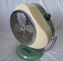 Ventilator - Heizstrahler – 60er - retro – vintage - emailliert - selten - Elekthermax