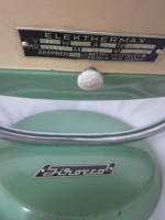 Foto 4 Ventilator - Heizstrahler – 60er - retro – vintage - emailliert - selten - Elekthermax