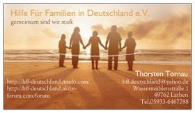 Verein Hilfe für Familien in Deutschland e.V. hilft