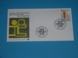 Vereinte Nationen - Internationales Jahr der Behinderten , FDC