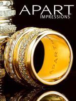 Vergoldeter Silberring mit Zirkonia von APART Gr. 20 - OVP - NEU