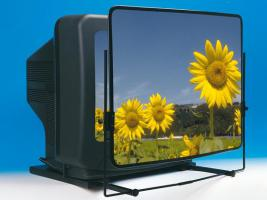 Vergrösserungsvorsatz für den Fernseher oder Monitor für besseres Sehen