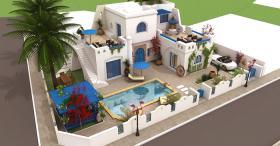 Verkauf villa mit Meerblick in Djerba