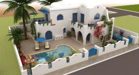 Foto 3 Verkauf villa mit Meerblick in Djerba