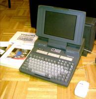 Verkauf - Toshiba Desk Station III, T3100SX mit Zubeh�r (Jahr 1989)