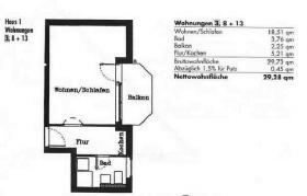 Verkaufe 1 Zi. Wohnung In 72202 Nagold (oberer Steinberg)