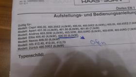 Foto 2 1 nagelneuen Orginalverpackten Ölofen 5,5 kw inkl. Rohre, Innen